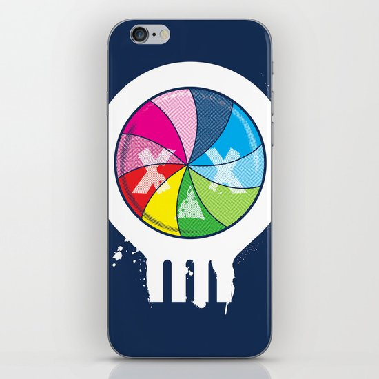Pinwheel of Death iPhone & iPod Skin