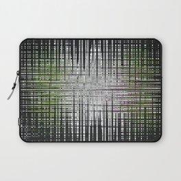 noir abstrait Laptop Sleeve