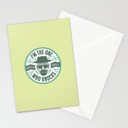 I'm the one who knocks Stationery Cards