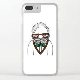 Grandpa Monday Clear iPhone Case