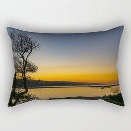 The Wedge Tree at Dawn Rectangular Pillow