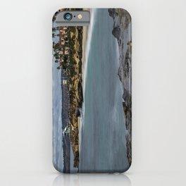 Casa and Wipeout Beaches, La Jolla, California iPhone Case