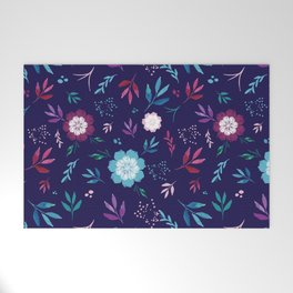 Floral Fantasy Welcome Mat