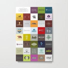 Class Brands Metal Print