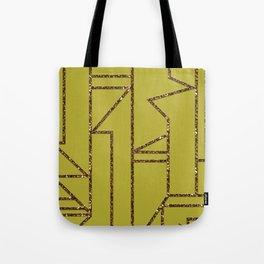 Ladders B (yellow) Tote Bag