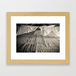 Bedouin tent Framed Art Print
