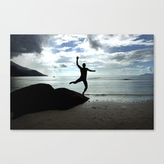 Open your mind, freedom's a state Canvas Print