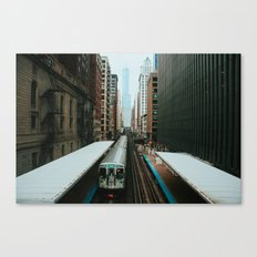 Meanwhile Above Wabash Canvas Print