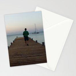 Morning at Palm Beach, Aruba - III Stationery Cards