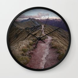 Kepler Track, Fiordland Wall Clock
