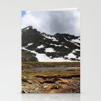 chris evans Stationery Cards featuring Mt. Evans, Colorado by Chris Root