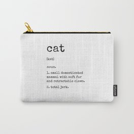 Cat Definition Carry-All Pouch