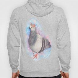 Flower Crown Pigeon Hoody