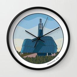 Explore Winnipeg Wall Clock