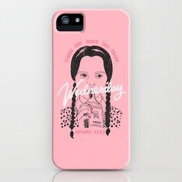 Wednesday Addams Eyes iPhone Case