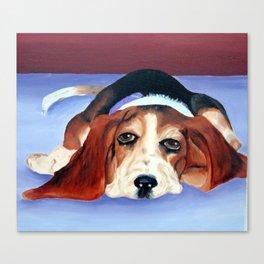 Lazy Sadie Canvas Print