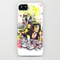 Uma Thurman From Pulp Fiction Slim Case iPhone (5, 5s)