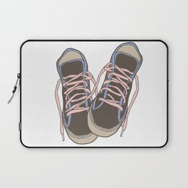 Trainers or Sneakers Illustration Laptop Sleeve
