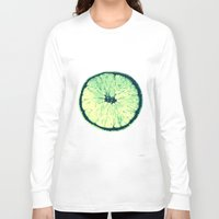 lemon Long Sleeve T-shirts featuring Lemon by zabalza