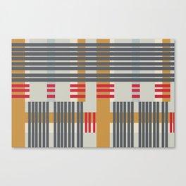 stripey stripe Canvas Print