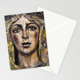 Macarena of mourning Stationery Cards