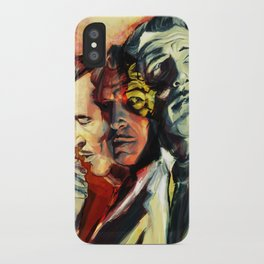 The Many Faces of Vincent Price iPhone Case