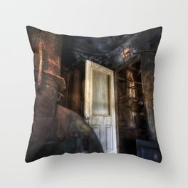 Warning... Enter At Your Own Risk Throw Pillow