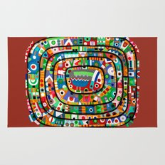 Planet of all good people Rug