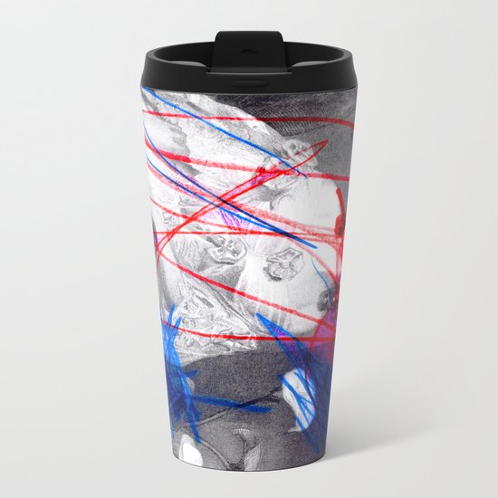 Strike 14 Metal Travel Mug