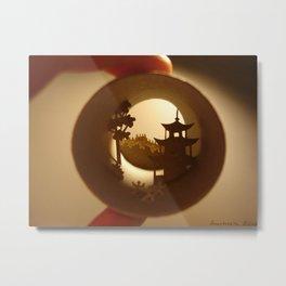 "Roll ""China"" Metal Print"