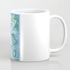 Abstract Animals - Blue and Green  Mug