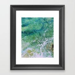 Waves pt. 3 Framed Art Print