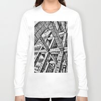 frames Long Sleeve T-shirts featuring Frames by Mark Alder