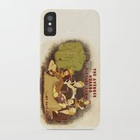 rocky horror picture show iPhone & iPod Cases featuring The Avenger Horror Picture Show by Leigh Lahav