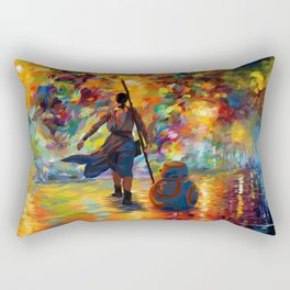 The girl with droid abstract iPhone 4 4s 5 5c 6 7, pillow case, mugs and tshirt Rectangular Pillow