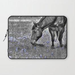 Horse & Bluebonnets Laptop Sleeve