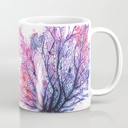 Fan Coral - Purple Coffee Mug