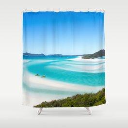 Whitehaven Beach Shower Curtain
