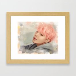BTS Jimin - Spring Day Framed Art Print