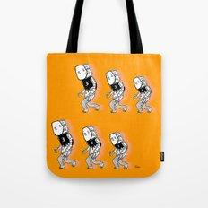 3...2...1 step Tote Bag