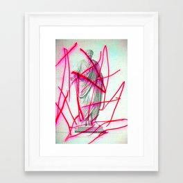 Strike 19 Framed Art Print