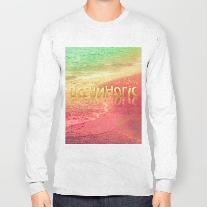 Beach Waves III - Oceanholic Long Sleeve T-shirt