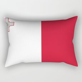 Flag of Malta Rectangular Pillow