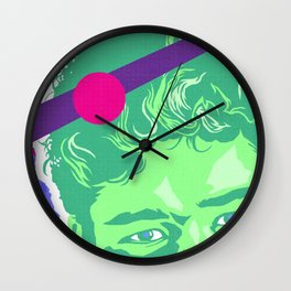 SLATER :: Memphis Design :: Saved By the Bell Series Wall Clock