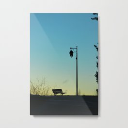 Lonely moment Metal Print