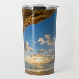 Porto Katsiki beach Travel Mug