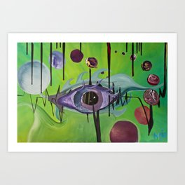 """""""Unified Vision Theory"""" Art Print"""
