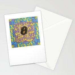 Alpha-Numero: Eight Stationery Cards