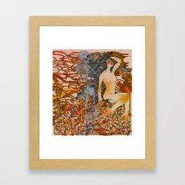 I'm Losing Your Mind Framed Art Print