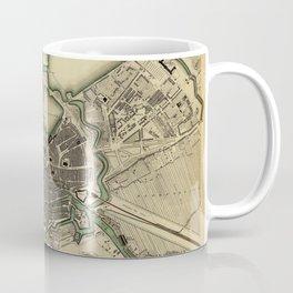 Map Of Hamburg 1841 Coffee Mug